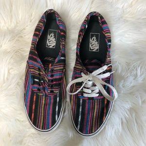 Multicolored Vans (Men's US 10)